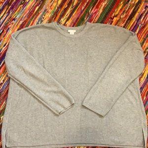J.Jill XL Gray Sweater
